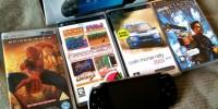 PSP - spill og film