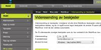 Telenor - MobilSvar - Videresending av beskjeder
